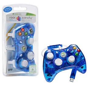 Xbox 360 - Controller - Rock Candy - Blue (PDP)