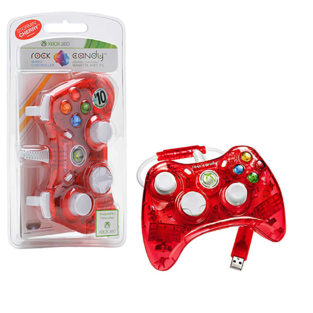 Xbox 360 - Controller - Rock Candy - Red (PDP)
