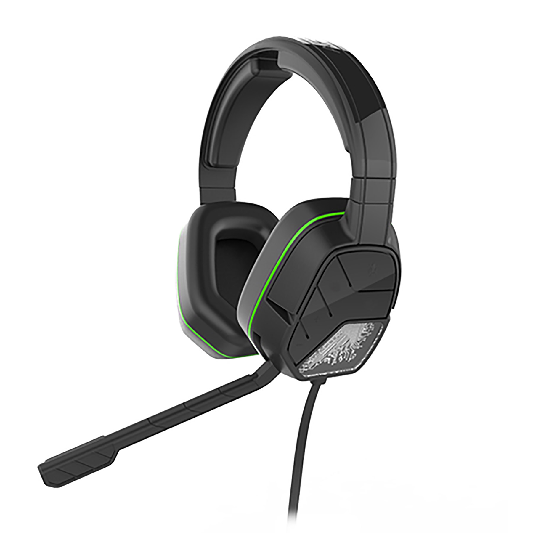 Xbox One – Headset – Wired – Afterglow LVL5+ Black (PDP) – Game World