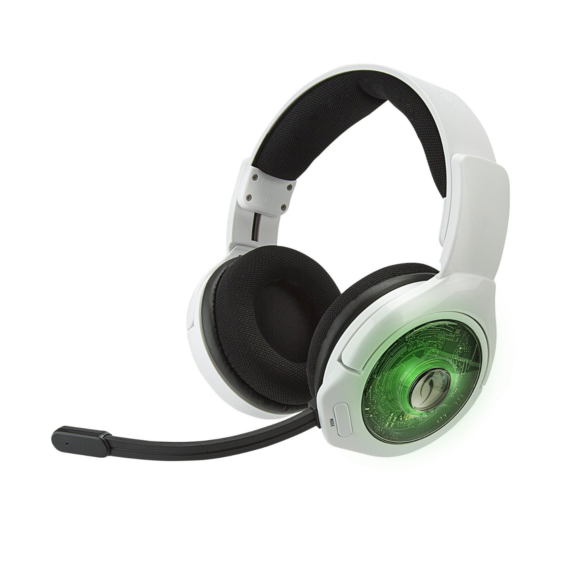 Xbox One Headset Wireless Afterglow Ag9 White Pdp Game World