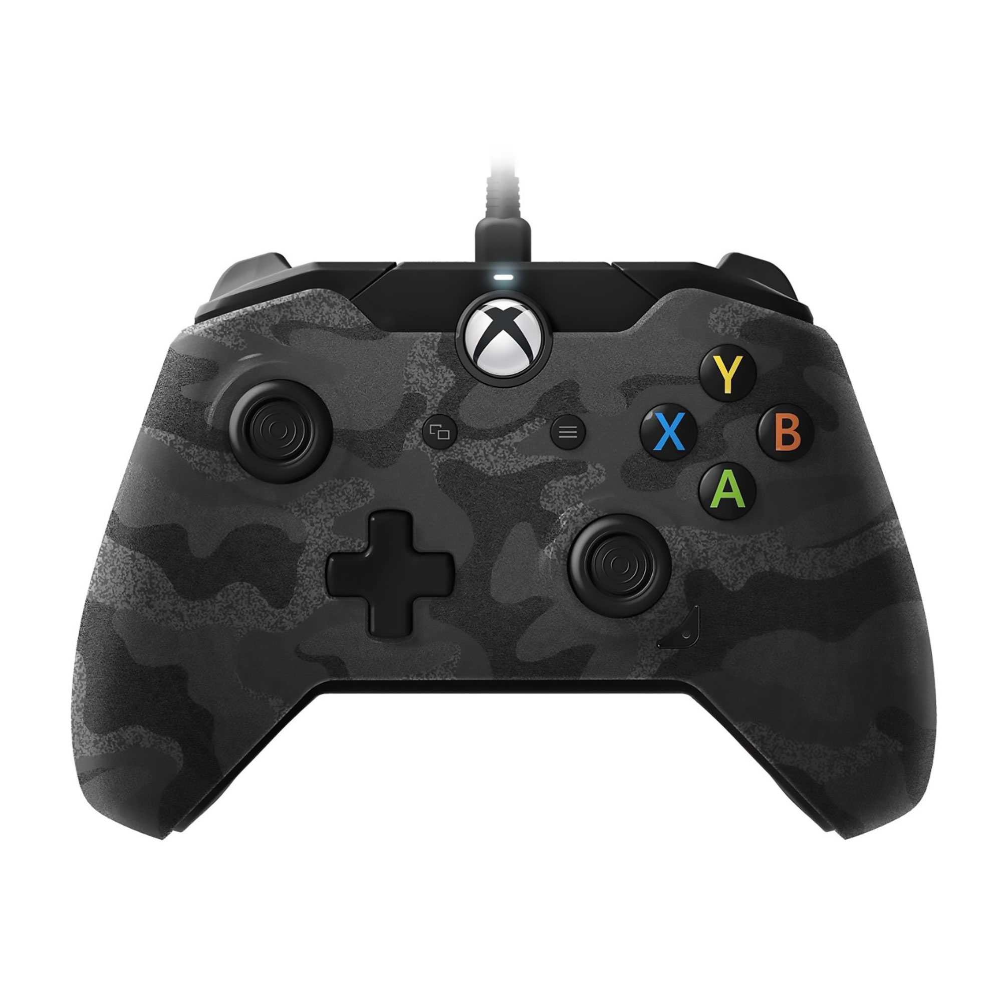 Xbox One – Controller – Wired – 3.5mm Black Camo (PDP) – Game World