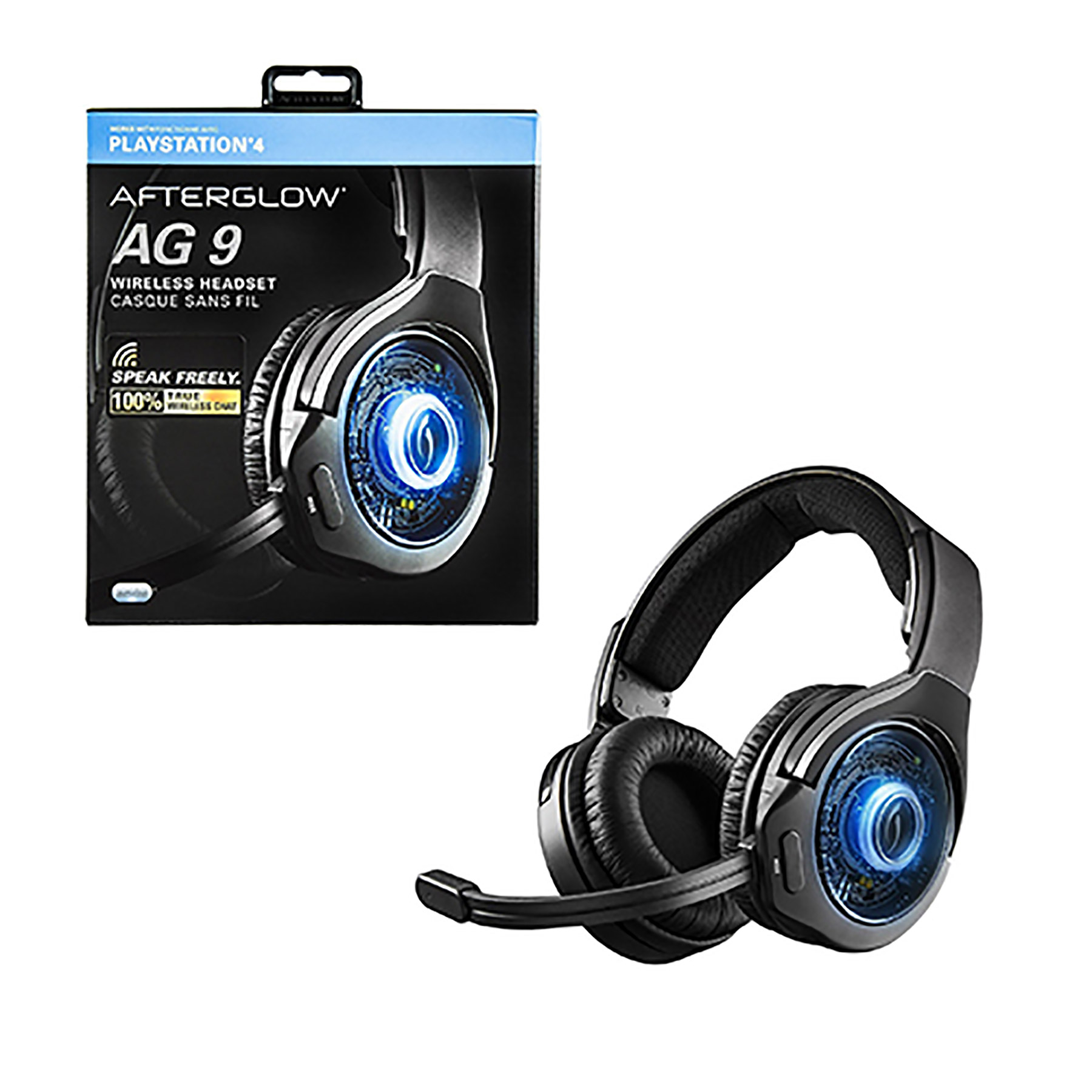 how to connect afterglow ag9 headset to ps4