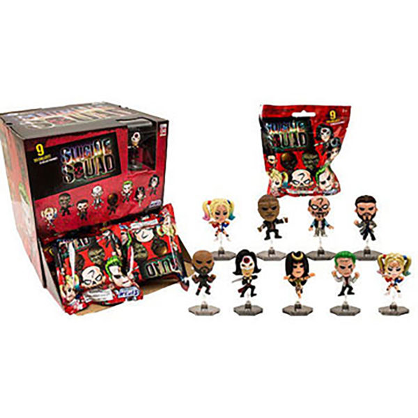 Toy - DC - Suicide Squad Buildable Figures - 24pc PDQ