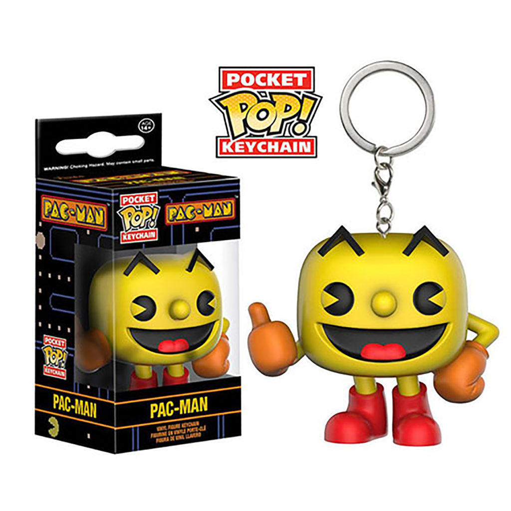 Toy - Pocket POP Keychain- Vinyl Figure - Pac Man