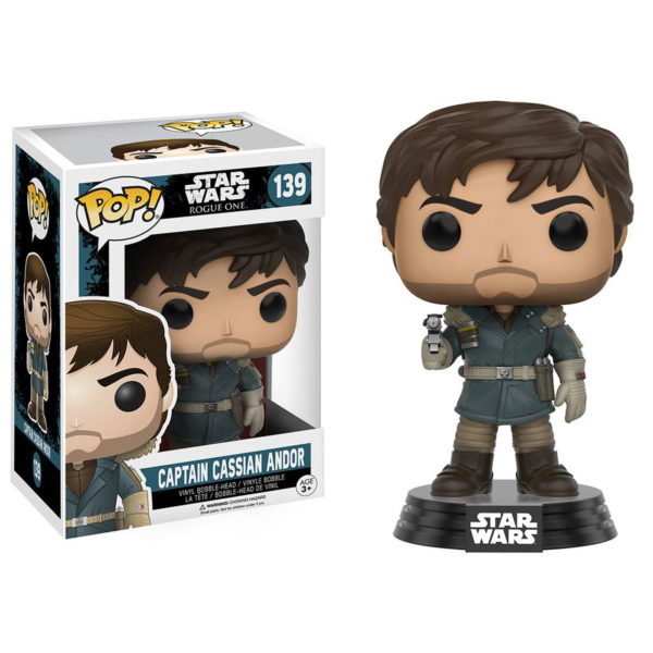 Toy - POP - Vinyl Figure - Star Wars Rogue One - Captain Cassian Andor