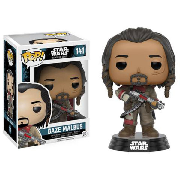 Toy - POP - Vinyl Figure - Star Wars Rogue One - Baze Malbus