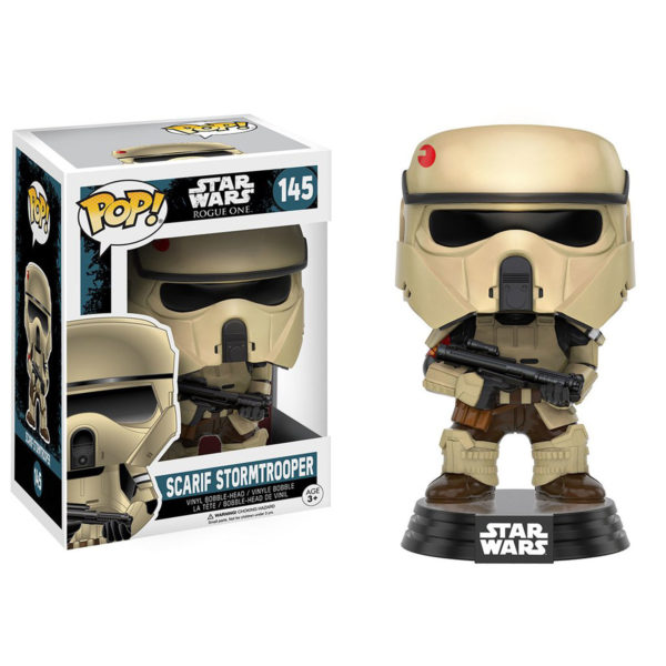 Toy - POP - Vinyl Figure - Star Wars Rogue One - Scarif Stormtrooper