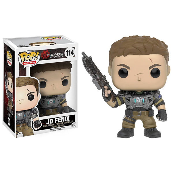 Toy - POP - Vinyl Figure - GOW - JD Armored