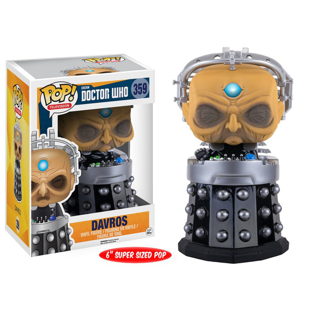 Toy - Over Sized POP - Vinyl Figure - Doctor Who - Davros
