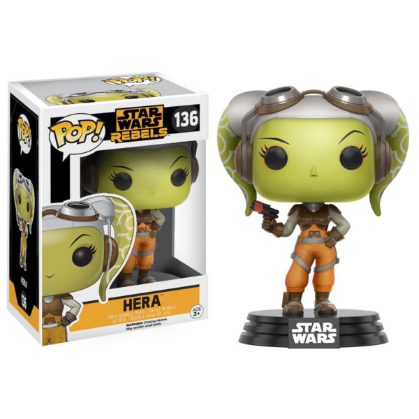 Toy - POP - Vinyl Figure - Star Wars Rebels - Hera