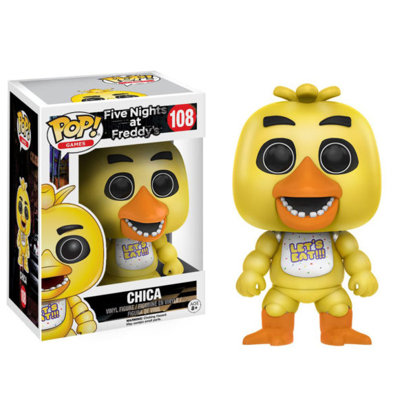 Toy - POP - Vinyl Figure - Five Nights at Freddy's - Chica