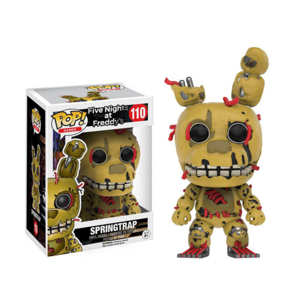 Toy - POP - Vinyl Figure - Five Nights at Freddy's - Springtrap