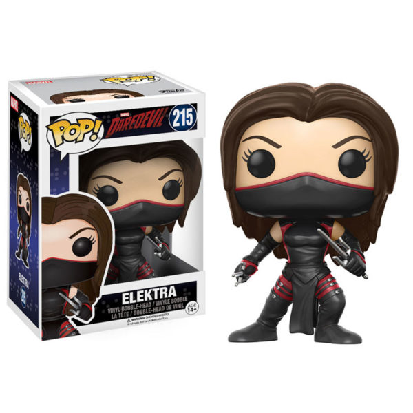 Toy - POP - Vinyl Figure - Daredevil - Elektra