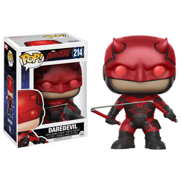 Toy - POP - Vinyl Figure - Daredevil - Daredevil w/ Helmet