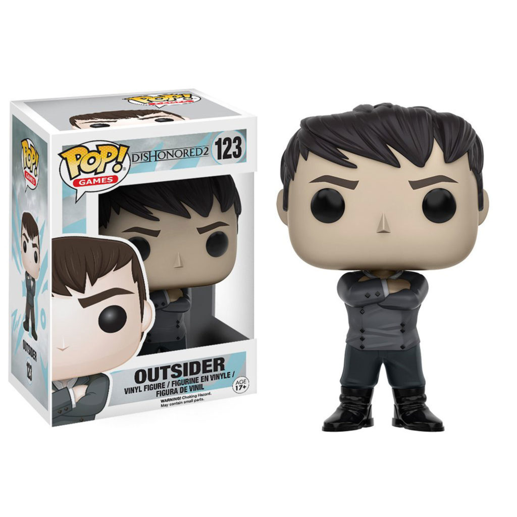 Toy - POP - Vinyl Figure -  Dishonored 2 - Outsider