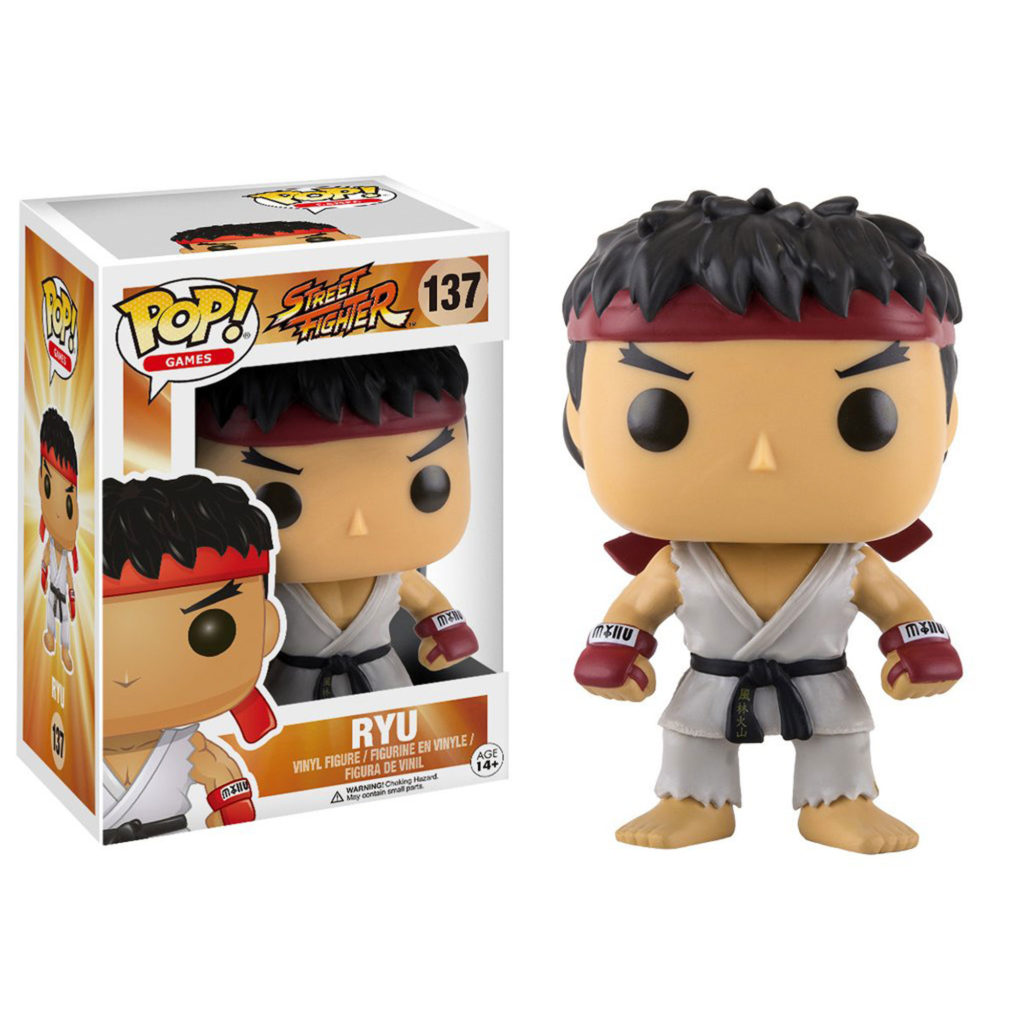 Toy - POP - Vinyl Figure -  Street Fighter - Ryu