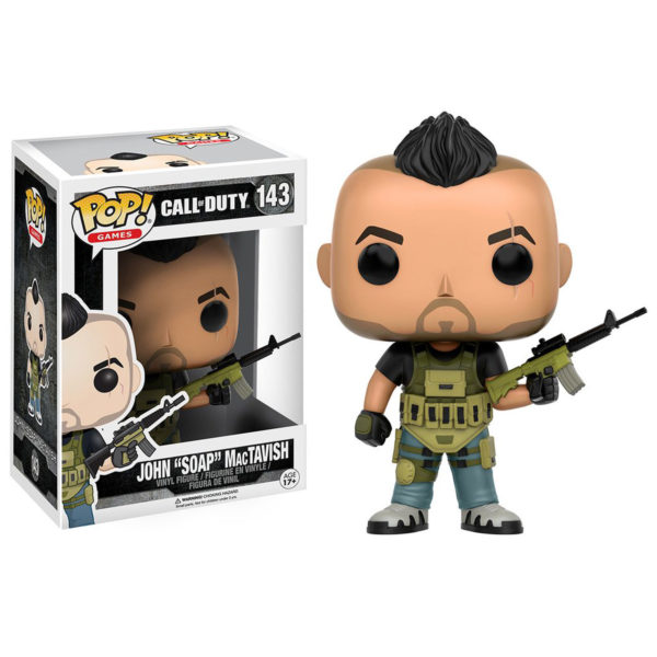 Toy - POP - Vinyl Figure - Call Of Duty - SOAP