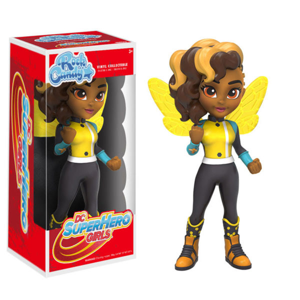 Toy - Rock Candy - DC Super Hero Girls - Bumblebee