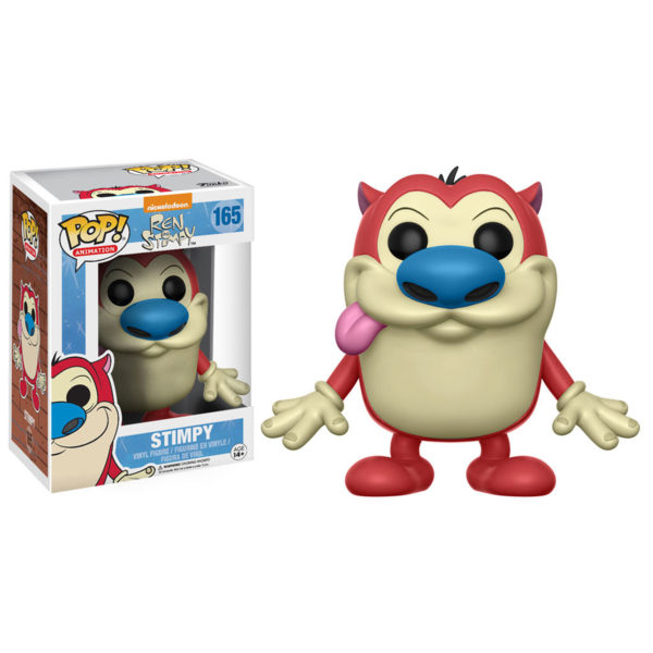 Toy - POP - Vinyl Figure - Ren & Stimpy - Stimpy