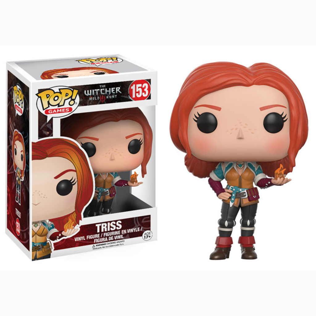 Toy - POP - Vinyl Figure - Witcher - Triss