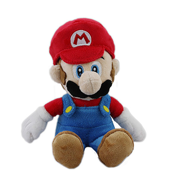 "Toy - Super Mario - Plush - Mario - 8"" (Nintendo)"