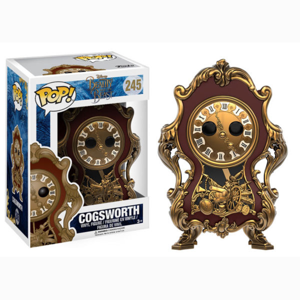 Toy - POP - Vinyl Figure - Disney - Beauty & The Beast - Cogsworth