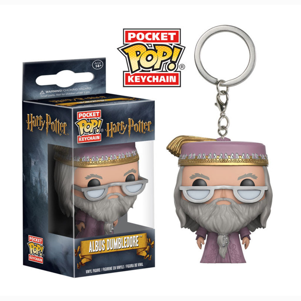 Toy - Pocket POP Keychain- Vinyl Figure - Harry Potter HP- Dumbledore