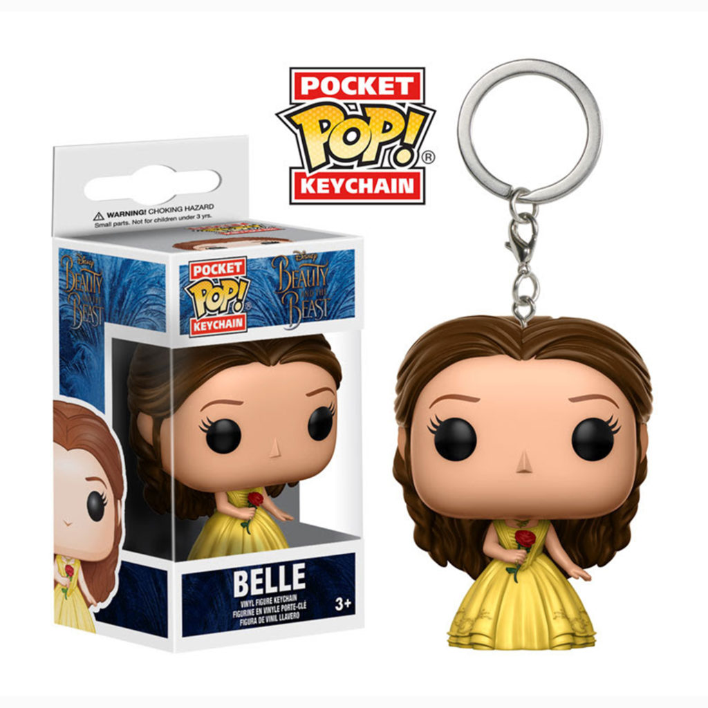 Toy - Pocket POP Keychain- Vinyl Figure - Beauty & Beast - Belle