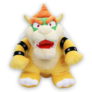 "Toy - Super Mario - Plush - Bowser - 16"" (Nintendo-L)"
