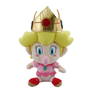 "Toy - Super Mario - Plush - Baby Peach - 5"" (Nintendo)"