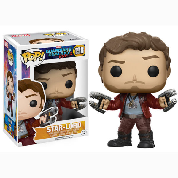 Toy - POP - Vinyl Figure - Guardians Of The Galaxy 2 - Star-Lord (Marvel)