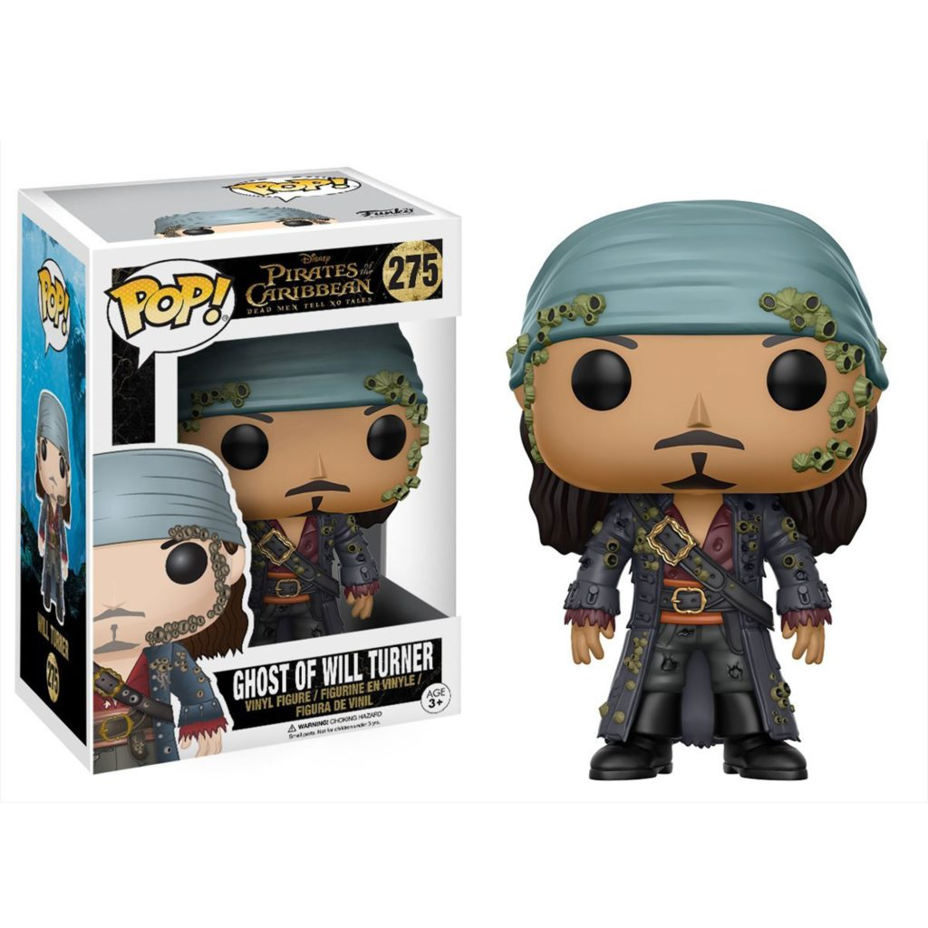 Toy - POP - Vinyl Figure -  Pirates of the Caribbean Movie - Ghost of Will Turner