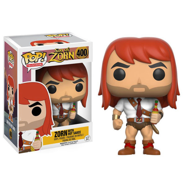 Toy - POP - Vinyl Figure - Son of Zorn - Zorn with Hot Sauce