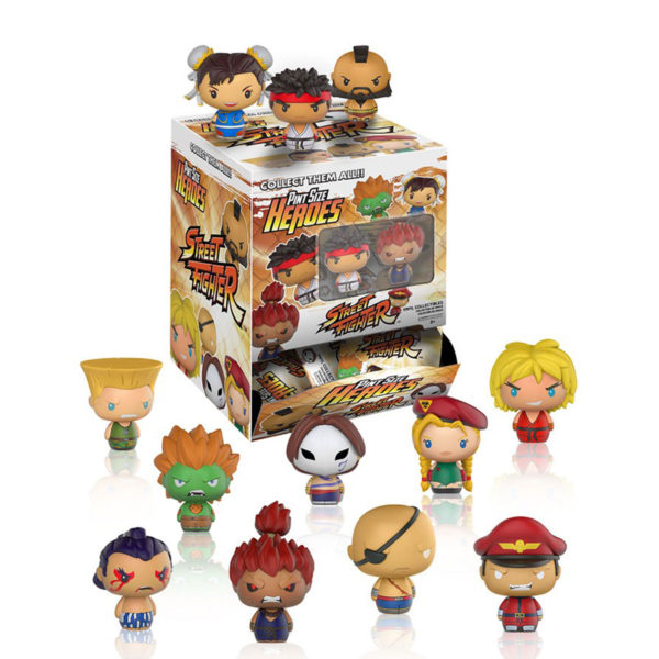 Toy - Street Fighter - Pint Size Figures - 24 pc PDQ