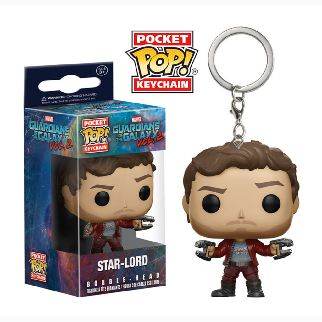 Toy - Pocket POP Keychain- Vinyl Figure - Guardians of the Galaxy 2 - Star-Lord (Marvel)