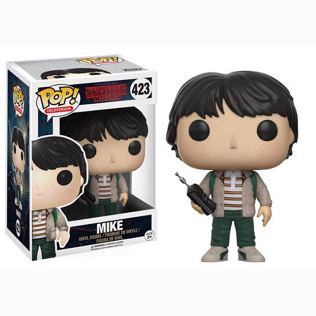 Toy - POP - Vinyl Figure - Stranger Things - Mike w/walkie Talkie