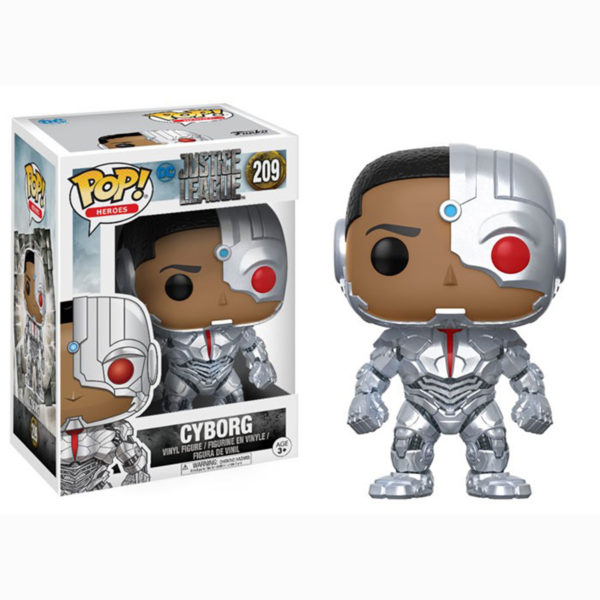 Toy - POP - Vinyl Figure - Justice League - Cyborg