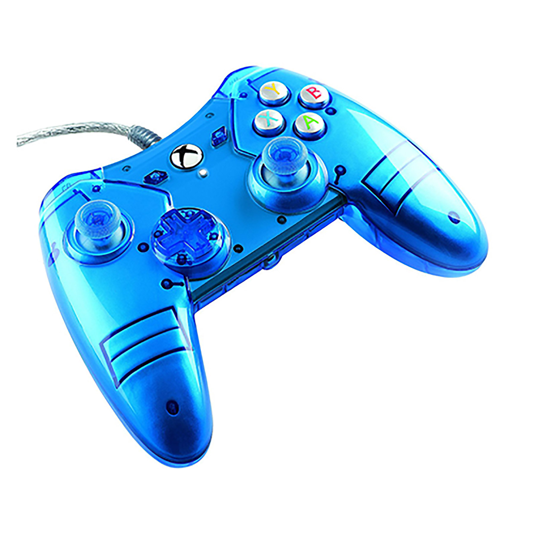 Xbox One – Controller – Wired – Liquid Metal Controller – Blue (Power A)