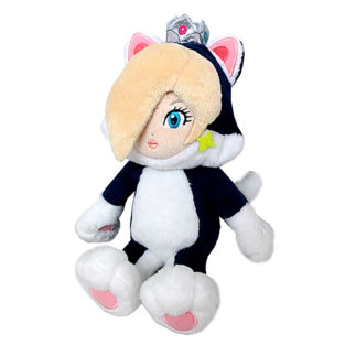 Toy - Super Mario - Plush - Cat Rosalina - 9""