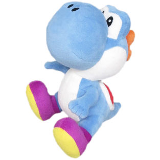 Toy - Super Mario - Plush - Blue Yoshi - 6""