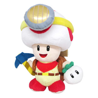 "Toy - Super Mario - Plush - Captain Toad Standing - 9"" (Nintendo)"