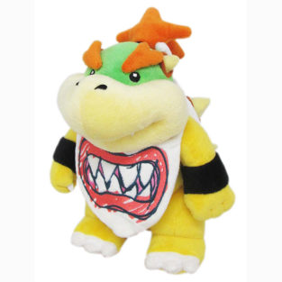 "Toy - Super Mario - Plush - Bowser Jr. - 9""(Nintendo)"