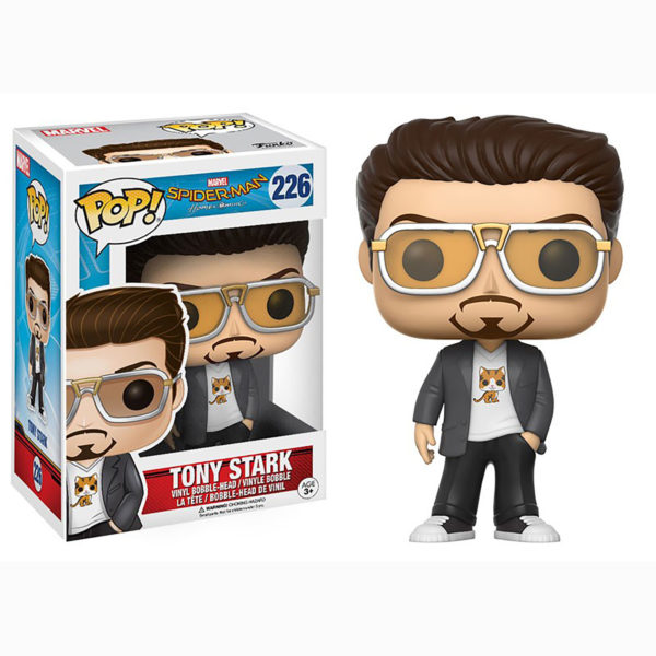 Toy - POP - Vinyl Figure - Marvel: Spider-Man - Tony Stark