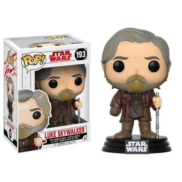 Toy - POP - Vinyl Figure - Star Wars - The Last Jedi - Luke Skywalker