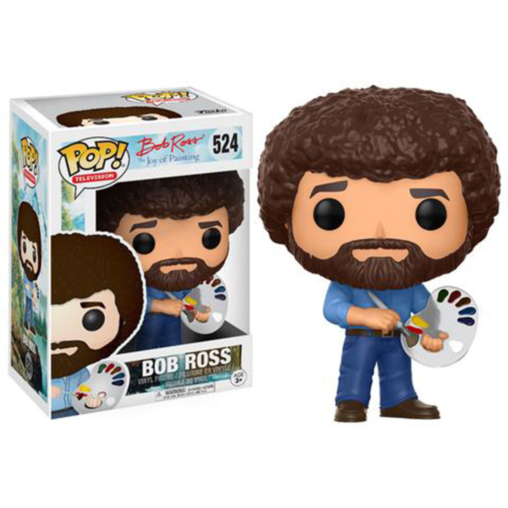 Toy - POP - Vinyl Figure - The Joy of Painting - Bob Ross