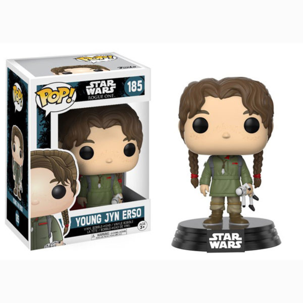 Toy - POP - Vinyl Figure - Star Wars Rogue One W2 - Young Jyn Erso