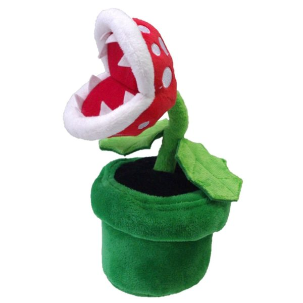 "Toy - Super Mario - Plush - Piranha Plant - 9"" (Nintendo)"