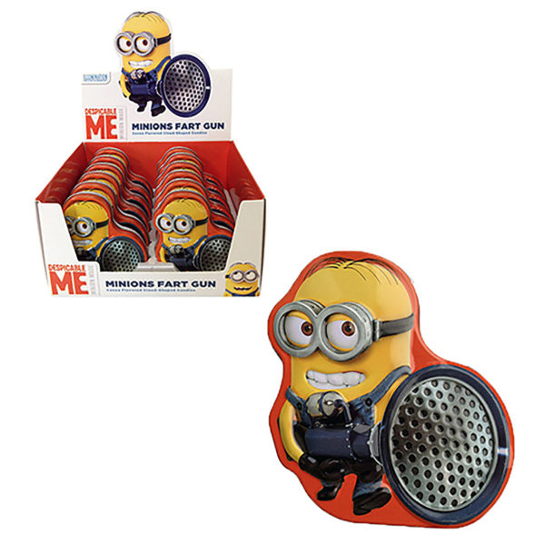 Candy - Minions - Fart Gun - 12-Pack