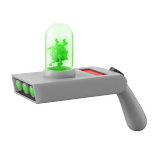 Toy - Rick and Morty - Portal Gun