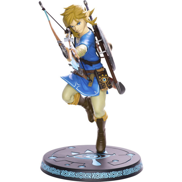 "Toy - First 4 Figures - Action Figure - Legend of Zelda - Breath of the Wild Link 11"" Figure"